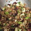 Wheatberry Waldorf Salad Recipe - Plump, nutty kernels of whole wheat are combined with pomegranate seeds, walnuts, apples, and raisins in a tangy dressing for a hearty and colorful salad.