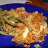 Swiss Chicken Casserole I Recipe - Swiss cheese makes this chicken and stuffing a real taste treat.