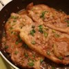 Pork Steaks Recipe and Video - My mom came up with this recipe when I was a child. It is the ONLY way I will eat green onions.