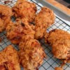 Chef John's Buttermilk Fried Chicken  Recipe and Video - I love the tangy tenderization that the buttermilk provides. After the buttermilk soak, dredge the chicken pieces in seasoned flour, and fry them in hot oil until crisp and cooked.