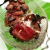 Stuffed Filet Mignon Bites Recipe - Bite-sized cuts of filet mignon are stuffed with jalapeno-spiked cream cheese, wrapped in bacon, and grilled.