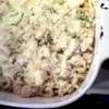 Fresh Asparagus and Chicken Casserole Recipe - Fresh asparagus and red bell pepper add lively color and tender flavor to this creamy, cheesy chicken and noodle casserole.