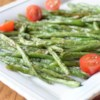 Roasted Green Beans Recipe - Simply roast fresh green beans with olive oil, salt, and black pepper until browned to bring out their nutty flavor.