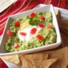 Edamame Dip (Edamole) Recipe - This dip tastes like guacamole but made with edamame which has more protein and fiber. Serve it just like guacamole with raw veggies, tortilla chips, or pita bread.