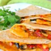 Farmer's Market Vegetarian Quesadillas Recipe - Making the most of simple, fresh ingredients found at your local Farmer's Market, these quesadillas make great appetizers or a quick and healthy meal.