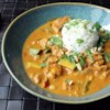 Chef John's Peanut Curry Chicken Recipe and Video - Chef John's Peanut Curry Chicken draws from many recipes--it's a winning combination of flavors, spices, textures, and colors for a easy and delicious dinner.