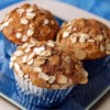 Whole Wheat Sweet Potato Muffins Recipe and Video - Spicy whole wheat sweet potato muffins, great for breakfast or a snack, have a crunchy almond-oat topping.