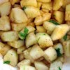 Cilantro Cucumber Salad Recipe -  Simple, spicy and delicious. Chunks of cucumber are splashed with lime juice and sprinkled with cilantro and chili powder. Makes a nice crudites with a dipping sauce, or the finishing touch for a pile of crisp greens.