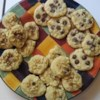 Coconut Almond Cookies Recipe - A rich butter cookie dough with coconut flakes mixed in and flavored with almond extract.
