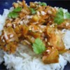 Amazing Simple Thai Tofu Recipe - You'd never guess it's Tofu!  Peanut and ginger flavors combine to create a wonderful Asian-flavored dish that everyone will love. Serve over white rice.