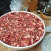 Cranberry Salad VII Recipe - This recipe is a farm family favorite that's wonderful any time of year. Strawberry or raspberry gelatin works just as well as cranberry in this shimmering salad that's both sweet and tart.