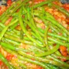 Greek Green Beans Recipe and Video - A nice mix of green beans, onion, and tomatoes simmered until soft and delicious! Just like Ya Ya used to make!