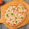 Cauliflower Pizza Crust from Green Giant(R) Recipe - No need to chop, process or grate. Start with a bag of our Riced Cauliflower to make this easier-than-ever pizza crust. Bake, then top with all of your favorite pizza toppings.