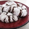 Chocolate Crinkles II Recipe and Video - Chocolate cookies coated in confectioners' sugar...very good!