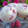 Raspberry Lemon Muffins Recipe and Video - This is the perfect muffin - really yummy flavor yet not much sugar. I've used different fruits too - blueberries and raspberries are our absolute favorites, but strawberries, peaches, or cherries are good too - frozen or fresh. You can use any kind of yogurt without fruit on the bottom. Easily adaptable to what you have. Hope you enjoy!
