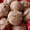 Polvorones de Canele (Cinnamon Cookies) Recipe - Polvorones de Canele (cinnamon cookies) are a Mexican-style cookie rolled in cinnamon sugar.