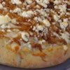 Caramelized Onion and Gorgonzola Pizza Recipe - Caramelized onions and Gorgonzola cheese are the toppings for this pizza made with refrigerated pizza dough.