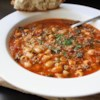 Chef John's Minestrone Soup Recipe and Video - A great Italian soup that incorporates a wide variety of vegetables and is topped with flavorful Parmesan cheese.