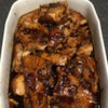 Salmon with Brown Sugar and Bourbon Glaze Recipe - Salmon is cooked in a glaze of butter, brown sugar and bourbon.