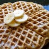 Banana Waffles Recipe and Video - Delicious waffles with banana cooked inside the waffle!