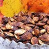 Sweet Pumpkin Seeds Recipe - Coat those left-over pumpkin seeds with a simple mixture of butter, cinnamon, and sugar, and make a satisfying, sweet snack.