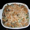 Absolutely Delicious Green Bean Casserole from Scratch Recipe and Video - No cans here! Fresh mushrooms, onion, and herbs with frozen green beans, sour cream, and cheddar cheese make this a delightfully tasty twist on the traditional casserole.