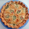Chicken Pot Pie II Recipe - Fresh and frozen vegetables cook up with chicken in a buttery sauce for a hearty one dish meal.