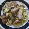 Chicken With Portobello Mushrooms and Artichokes Recipe - Dust boneless chicken breasts with a seasoned flour, then saute and serve with an aromatic sauce of portobello mushrooms, onions, broth, lemon juice, tarragon and artichokes. A dash of brandy deepens the earthy flavors.