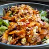 Roasted Carrot Salad Recipe - Thinly sliced carrots are roasted, then tossed with almonds, dried cranberries, and blue cheese in this award winning salad.