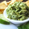 Simply Guacamole Recipe - This is so easy and so good. It's always the hit of the party and it's gone before anything else on the table.