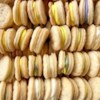 Swedish Cream Wafers Recipe - These are crisp and puffy sandwich cookies. The filling can be colored to match any occasion.