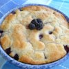 Mama's Blackberry Cobbler  Recipe - Turn this super-simple blackberry cobbler out with only 5 ingredients in less than 1 hour. Now you have another excuse to go blackberry picking.