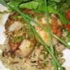 Tarragon Lover's Scallops Recipe - Lightly browned sea scallops complemented by a smooth brown butter sauce with fresh tarragon. All you fans of tarragon, this is the recipe for you!