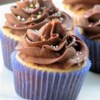 Peanut Butter Cupcakes Recipe - Moist and rich peanut butter cupcakes make a great snack. My baby sitter used to make these for us, we gobbled them down within 5 minutes!!!
