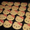 Sugar Cookies X Recipe - Everyone who eats them falls in love with them.  They are very delicate, and cook rather quickly.  Just cook them till they are brown around the outside edge.