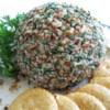 Tuna Ball Recipe - Chopped pecans give this blend of tuna, cream cheese and onion a light crunch. I love this appetizer with veggies, crackers, and veggies.