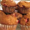 Mimi's Giant Whole-Wheat Banana-Strawberry Muffins Recipe - A healthier version of a favorite breakfast treat! Bananas and strawberries lend a natural sweetness to these delicious and moist muffins.