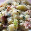 German Potato Salad Recipe and Video - This is a really good hot potato salad that my mother used to make for us.  You can vary the amount of vinegar and sugar to change the taste around.