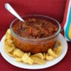 Chili I Recipe - A straight-forward chili with ground beef, canned kidney beans and chili powder simmered with crushed tomatoes for under an hour.
