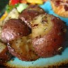 Oven Roasted Red Potatoes Recipe and Video - Red potatoes are coated with olive oil and a package of onion soup mix before roasting in a hot oven for one hour.