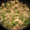 Risotto with Chicken and Asparagus Recipe - A delicious, authentic-tasting Italian risotto with chicken and asparagus. Perfect with a glass of Italian wine!