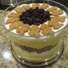 Eggnog Gingerbread Trifle Recipe - This gorgeous trifle combines two of the holiday's best flavors - eggnog and gingerbread.