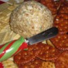 Yummy Cheese Ball Recipe - A tasty cheese and bacon cheese ball. Best served with buttery crackers.