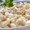 Old Fashioned Macaroni Salad Recipe - For a perfect picnic salad, mix canned tuna with crunchy bell peppers and celery, toss with garlic powder, mayonnaise and mustard, add salt and pepper to taste, then stir in cooked macaroni and chill a bit to let the flavors meld.