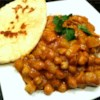 Butter Chickpea Curry Recipe - A delicious, creamy chickpea and potato curry, full of flavor and so simple. Serve over a bed of rice.
