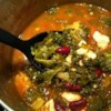 Turkey Garbanzo Bean and Kale Soup with Pasta Recipe - Here's a heart-healthy and delicious soup that's easy to customize.  Just add or delete ingredients to suit you own tastes.