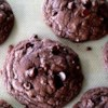 Chocolate Fudge Cookies Recipe - Chewy chocolate chip cookies made from chocolate cake mix.