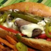 Philly Cheesesteak Sandwich with Garlic Mayo Recipe and Video - This is a delicious and easy sandwich that gets rave reviews from my husband and brother.  The garlic mayo is both easy and delicious.