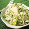 Colcannon Recipe and Video - This is a recipe from County Mayo. It is traditional Halloween fare but good anytime! Kale can be substituted for cabbage.