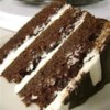 Perfect St. Patrick's Day Cake Recipe and Video - The robust taste of Irish stout beer enhances the chocolate flavor of this layer cake. An Irish cream liqueur-flavored frosting and drizzle of bittersweet chocolate over all complete this perfect St. Patrick's Day dessert.
